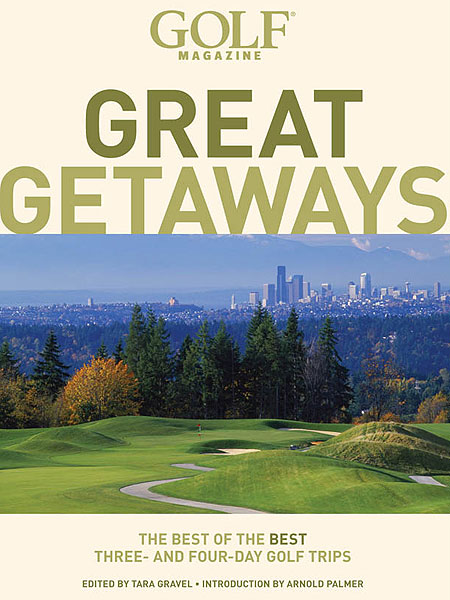 "GOLF Magazine Great Getaways:                       The Best of the Best Three- and Four-Day Golf Trips                       by Tara Gravel                       Abrams Publishing                       Hey, a little self-interest here, but the truth is that ""GOLF Magazine Great Getaways"" is a solid, information-crammed tome that packages the best of the magazine's most recent travel coverage with updated information and terrific photos.                                              See more great holiday gift ideas in the GOLF.com Holiday Gift Guide"