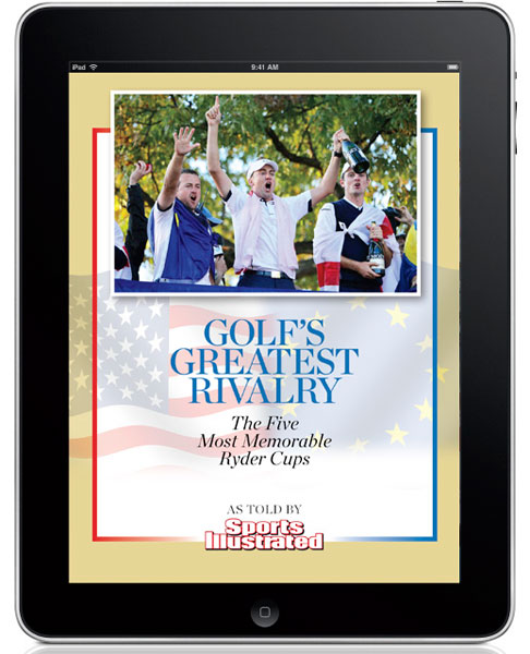 Golf's Greatest Rivalry E-Book                           $1.99-2.99, available for download via iTunes, Amazon, and Barnes & Noble                           The writers and editors of the Sports Illustrated Golf Group select the five most memorable Ryder Cups since Europe joined the fray in 1979. Includes an introduction from Michael Bamberger, explaining why the Cup is the most compelling rivalry in the game.