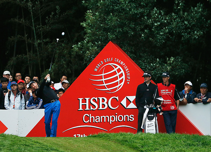 Graeme McDowell shot a 71 on Saturday to cling to a one-shot lead at the HSBC Champions.