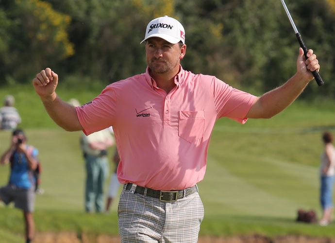 McDowell won his second European Tour event of the season two months later, firing a 4-under 67 in the final round to win the French Open at the Paris National course. The victory was his ninth European title.