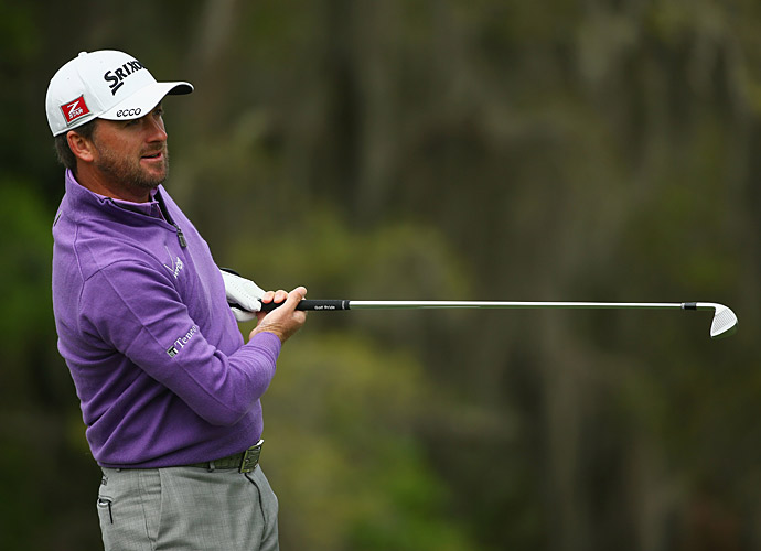 Defending champion Graeme McDowell opened with a 71.