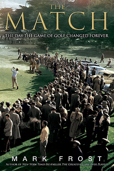 The Match:                       The Day the Game of Golf Changed Forever                       by Mark Frost                       Hyperion                       Aside from the overheated title, everything else works in this nifty little tale from master storyteller Mark Frost, who gifted golf audiences a few years back with the Francis Ouimet saga, The Greatest Game Ever Played. His latest effort deals with a relatively unknown (though legendary to golf insiders) match between pros Ben Hogan, Byron Nelson and amateurs Ken Venturi and Harvie Ward. For course connoisseurs, the backdrop of Cypress Point is reason enough to buy the book.                                              See more great holiday gift ideas in the GOLF.com Holiday Gift Guide