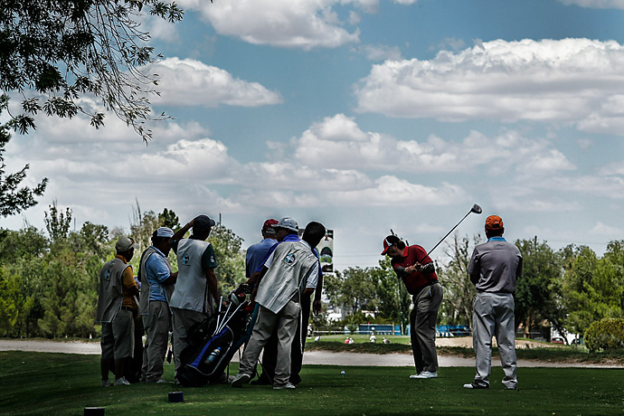 Despite the desert climate, Campestre has more than 10,000 trees, green  fairways, lush
