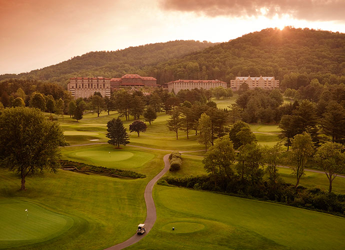 10. Grove Park Inn, Asheville, N.C.: Perched high above Asheville in the mountains of western North Carolina, the Grove Park course kicks off our list of Donald Ross courses you can play. It has hosted a fistful of U.S. Presidents and the likes of Bobby Jones, Ben Hogan and Jack Nicklaus. Precision is paramount on this shortish, 6,720-yard, par-70 track, as well as an ability to cope with uphill, downhill and sidehill lies.