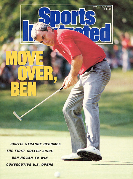 Curtis Strange earned his second straight U.S. Open -- and a spot on SI's cover -- in 1989.