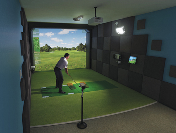 High Definition Golf Simulator                       $45,000 (approx.), hdgolf.com