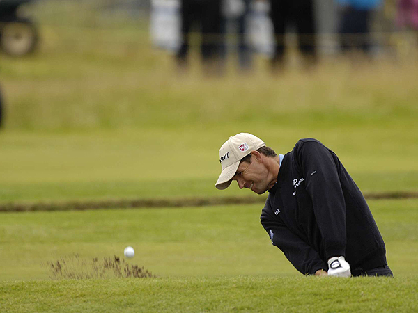 Padraig Harrington was many people's darkhorse pick coming into the 136th Open Championship. The Irishman is tied for eighth after a two-under 69.