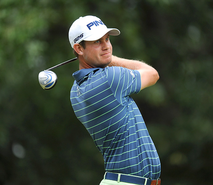 Harris English shot an impressive six-under 64 to take a two-shot lead on Friday.