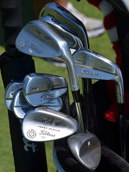 Harrison Frazar won last week's FedEx St. Jude Classic in Memphis using these Titleist 710 Forged MB irons.