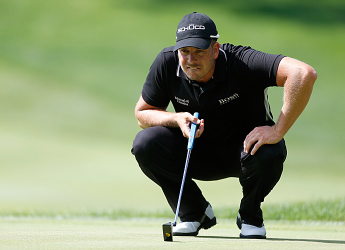 Stenson's unblemished card featured three birdies and an eagle.