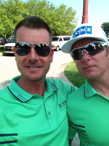 Henrik Stenson My selfie was better Mr ilonen?....Bossbrothers we are! H