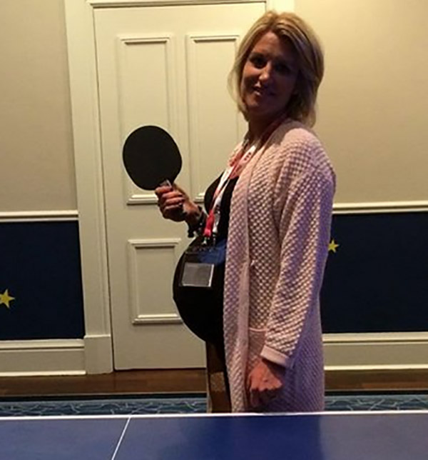 Henrik Stenson Table tennis in team room but unfair that they are two on the other side of the net?....... tomorrow it starts! The Ryder cup that is.....I hope the rest waits a couple of weeks!! H