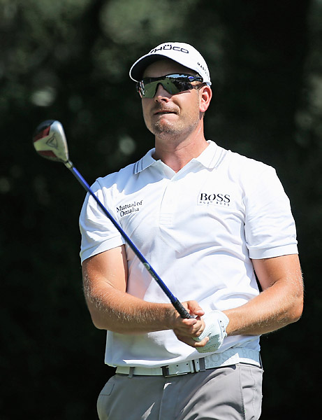 Stenson won the Deutsche Bank Championship, the second playoff event.