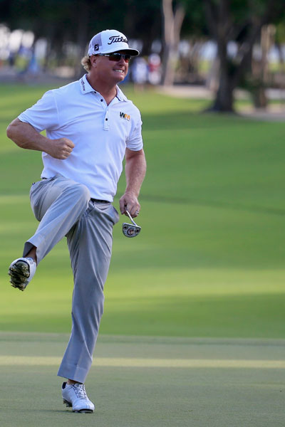 Hoffman, 37, earned his third PGA Tour title and snapped a victory drought that spanned 108 starts.