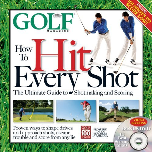 GOLF Magazine's 'How to Hit Every Shot' ($30)                           amazon.com                           The instruction editors at GOLF Magazine have compiled 192 pages of useful tips and helpful photos to help your dad out of any jam.