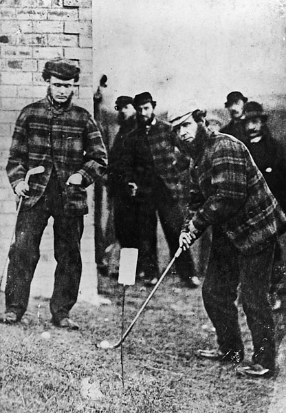 Old Tom Morris, 1862 British Open: 13 shots                       Morris (1821-1908), one of the most influencial figures in the history of the game, won the 1862 Open Championship by 13 shots -- a record that stood for 138 years, until Tiger Woods topped it in 2000.
