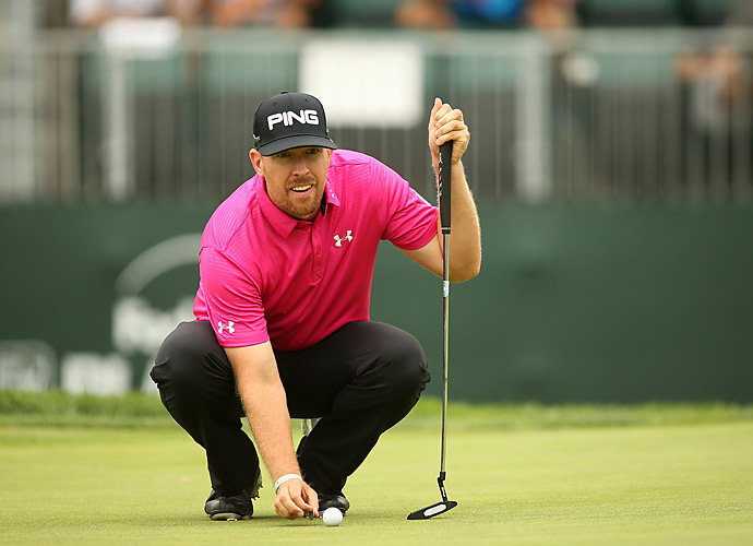 Hunter Mahan cruised to a 66 to challenge for the lead.