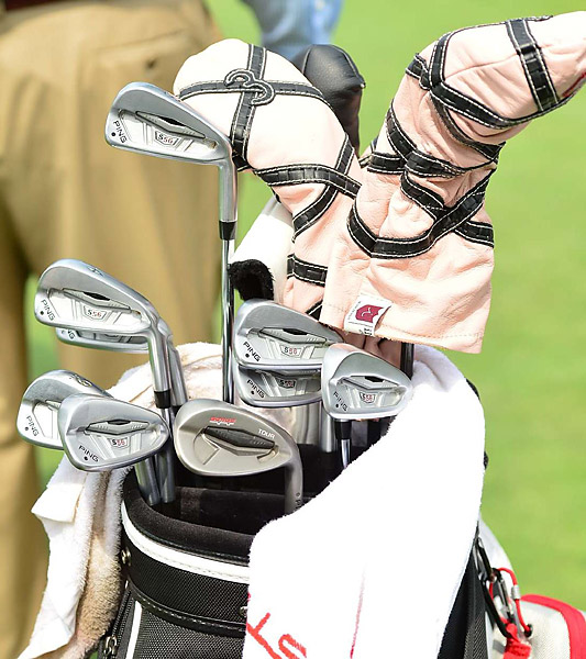 Fresh off the birth of his first child, Hunter Mahan and his Ping S56 irons are back in action at Oak Hill.