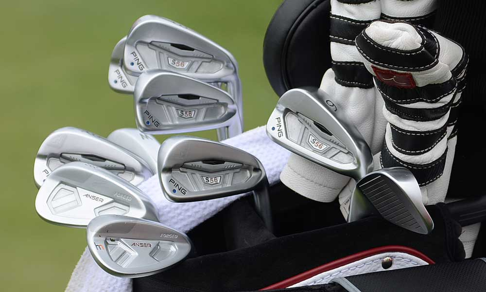 Hunter Mahan used these Ping S56 irons and Ping Forged Anser wedges to win the Shell Houston Open last week.