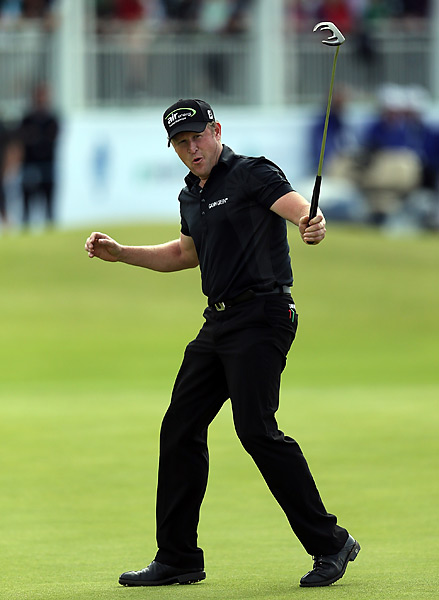 Jamie Donaldson won his first European Tour title by shooting a 6-under 66 to clinch a four-stroke victory at the Irish Open on Sunday.