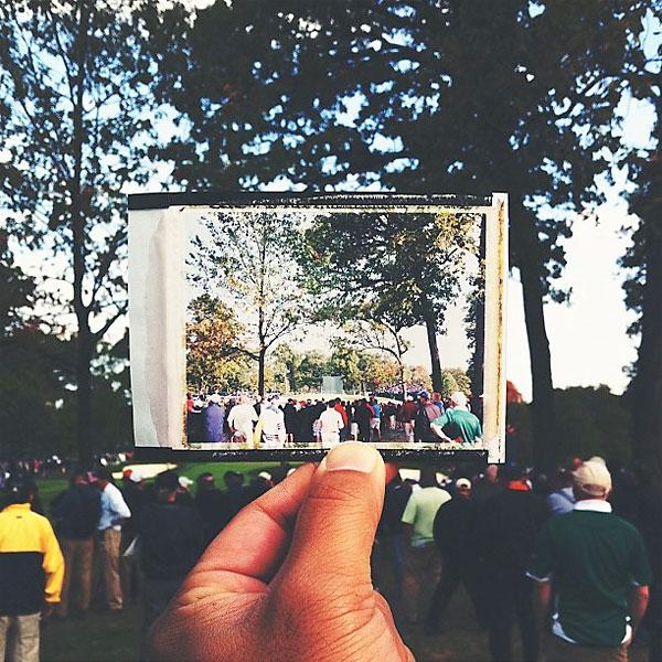 @kohjirokinno: #092812 #RyderCup2012 #polaroid