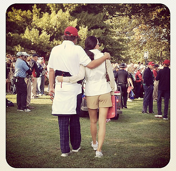 @stephaniemwei: The Dufners supporting their teammates. #adorable