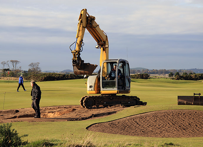 Changes at the Old Course, 4th Hole