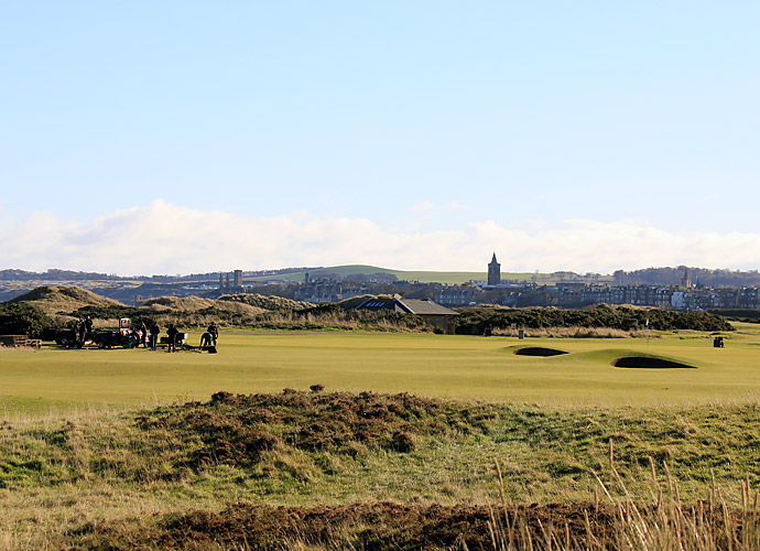 Changes at the Old Course, 9th Hole