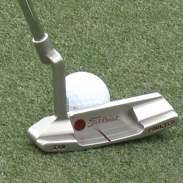 Ian Poulter plans to use a new Scotty Cameron for Titleist putter this week at Doral.