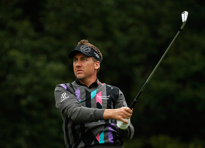 Ian Poulter shot a 67 of his own to charge into second place.