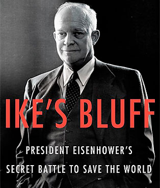 Ike's Bluff: President Eisenhower's Secret Battle to Save the World                       $29.99, amazon.com                       Author Evan Thomas chronicles Dwight Eisenhower's presidency, and along the way reveals rich new details about Ike's love of golf.