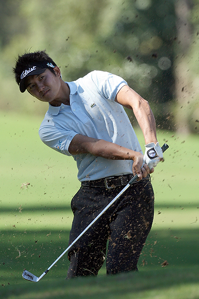 4. Imada slices up Riviera's rugged rough                           Television commentators spoke at length last week about the tough kikuyu rough at Riviera, but Ryuji Imada handled it with ease. He led the field in scrambling for the week by getting up and down to save par 82.76% of the time. That is 14.13% better than his season average. According to titleist.com, Imada uses two Vokey 200-series wedges (48° and 53°) and a Vokey prototype 60° wedge.
