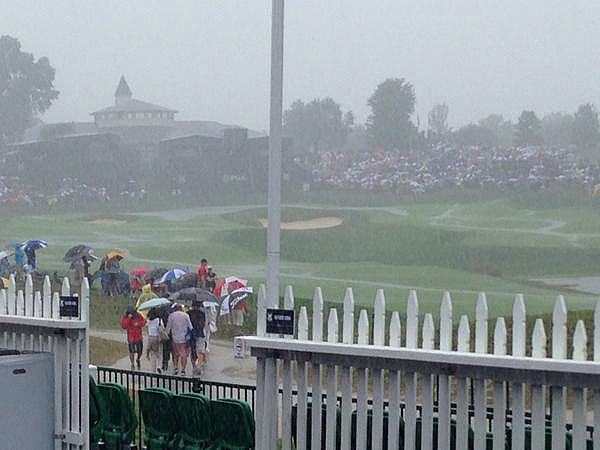 @mark_immelman                           It gets worse!!! Where's the horn? #flooded #PGA