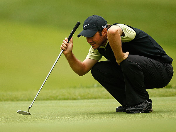 Trevor Immelman, this year's Masters champion, is one of four South Africans in the field at Bellerive. He shot an opening-round 69.