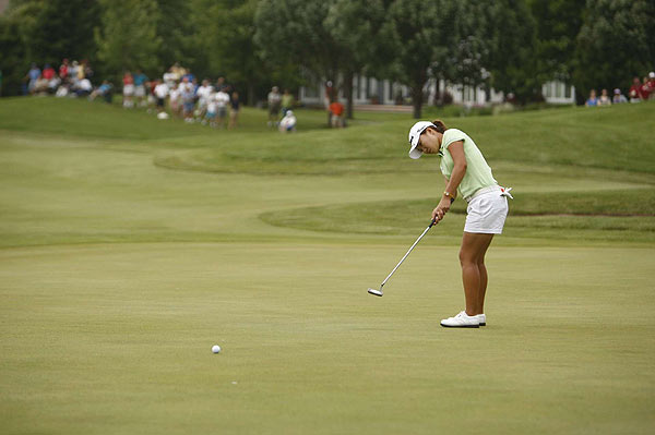 Final Round of the State Farm Classic                           In-Kyung Kim missed a birdie putt on 18, but still won by one stroke.