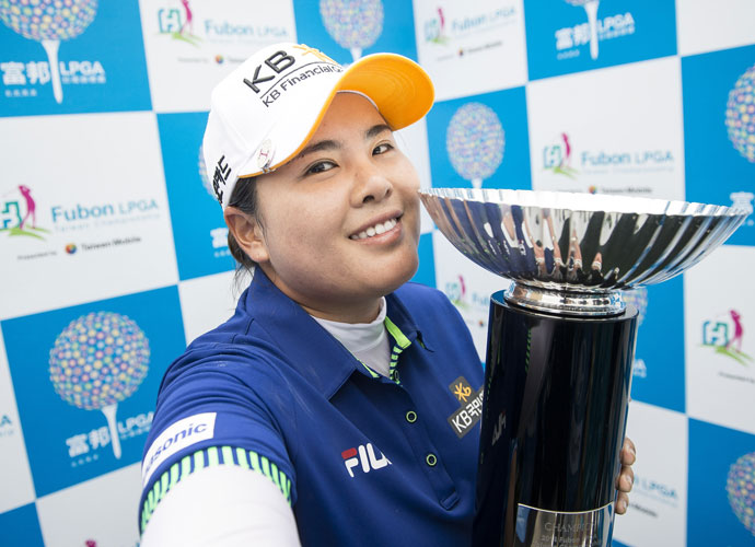"""I think this will be my wedding gift for myself.""                           —The recently married Inbee Park on her LPGA Taiwan Championship victory."