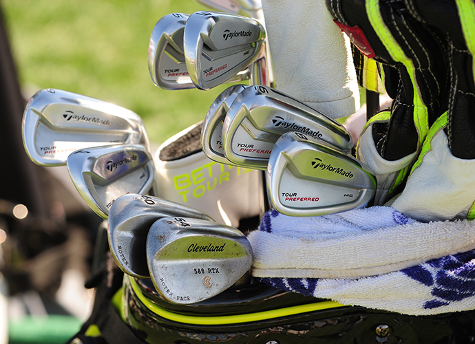 J.B. Holmes opts for the Cleveland 588 RTX wedges.
