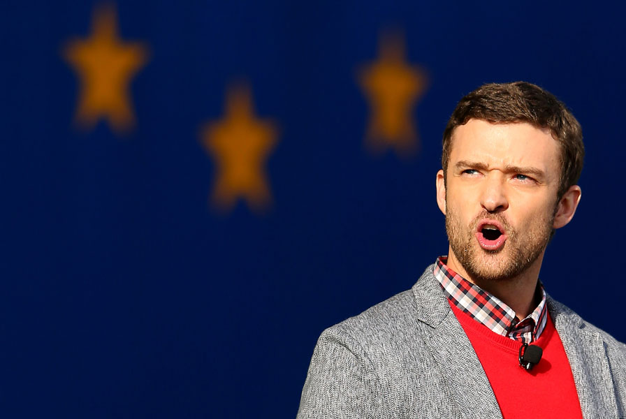 "Timberlake was made an ""ambassador"" for the U.S. team and hosted the Ryder Cup opening ceremony, where he delivered an ill-advised poetry reading."