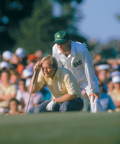 Jack, and Jackie, Won There                             Jack Nicklaus won the North and South Amateur as a 19-year-old in 1959. His son, Jackie, won the same event 26 years later. Jackie's victory came a year after Davis Love III won the North and South, a prestigious event that also counts Curtis Strange ('75, '76), Hal Sutton ('80) and Corey Pavin ('81) among its champions. Jackie joined his father at the Masters the next year, looping during the Golden Bear's sixth Masters triumph.