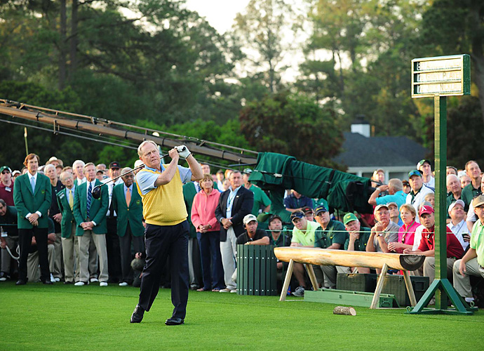 Why  would the man who has won more green jackets than anyone, and who has racked up six lifetime exemptions to Augusta willingly skip out on the event? Well, he is 73, and he did participate in the ceremonial tee shot at last year's event. So, maybe it is unrealistic for the Golden Bear to put on the spikes again, but who wouldn't want to see Jack compete one last time amidst the azaleas?