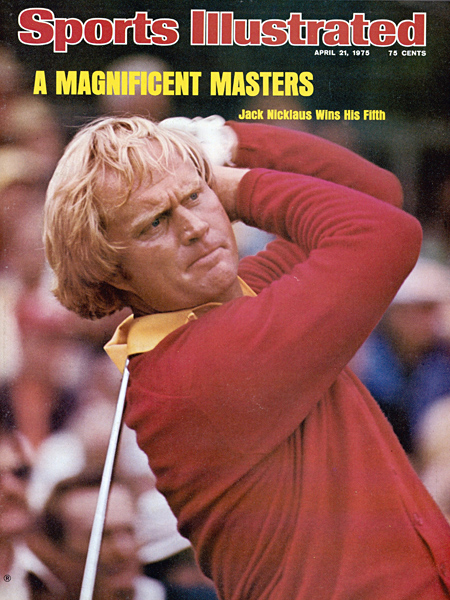Nicklaus landed on yet another Sports Illustrated cover.