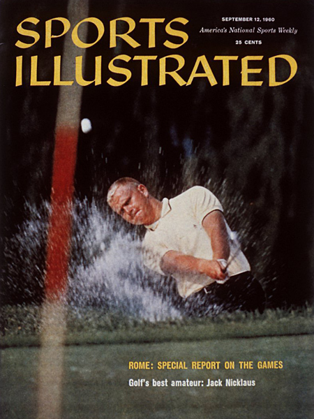 After finishing second in the 1960 U.S. Open at Cherry Hills Country Club — and winning the previous year's U.S. Amateur — Sports Illustrated stated the obvious on its cover. Nicklaus would go on to win the 1961 U.S. Amateur and NCAA titles before turning pro.