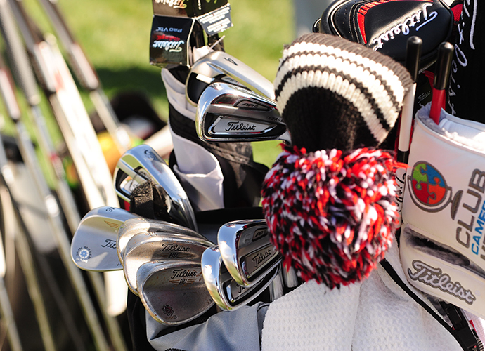 Jason Bohn goes with four Vokey wedges.