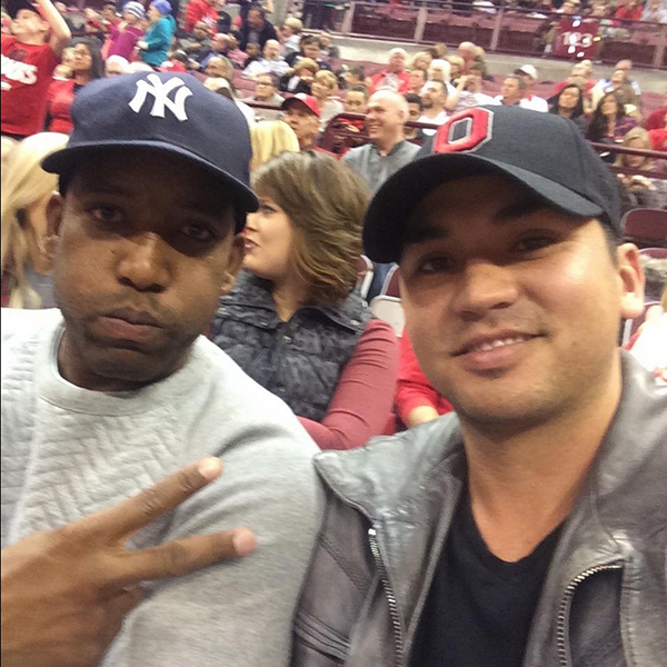 @JDayGolf Was great to hang with my buddy Michael Redd last night at the bucks game. Hope to catch some more bucks games soon.