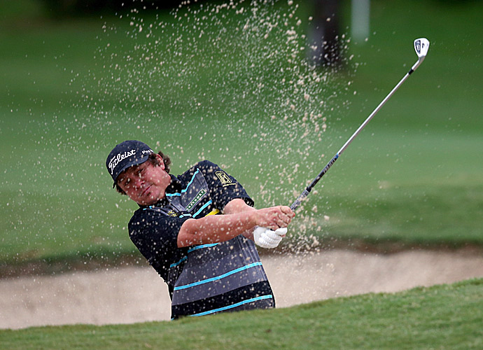 Defending champion Jason Dufner was even par on the day.