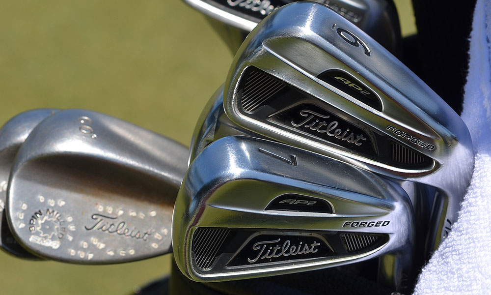 8. Jason Dufner                           Titleist AP2 712 (4-PW) with Project X 6.5 Flighted shafts
