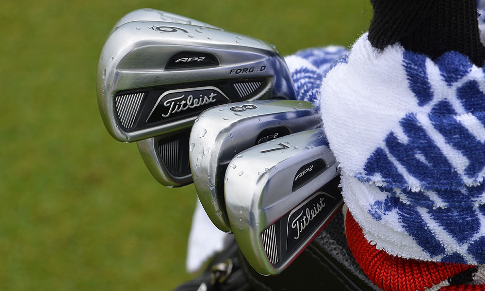 Jason Dufner plays with  Titleist 712 AP2 irons.