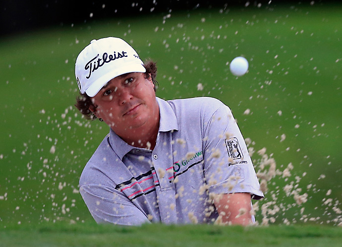Four consecutive birdies on the back nine moved Jason Dufner to 3-under par through 16 holes.