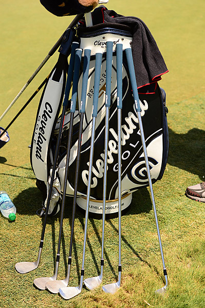 Jason Kokrak was letting his clubs breathe outside of his bag Friday at TPC Sawgrass.