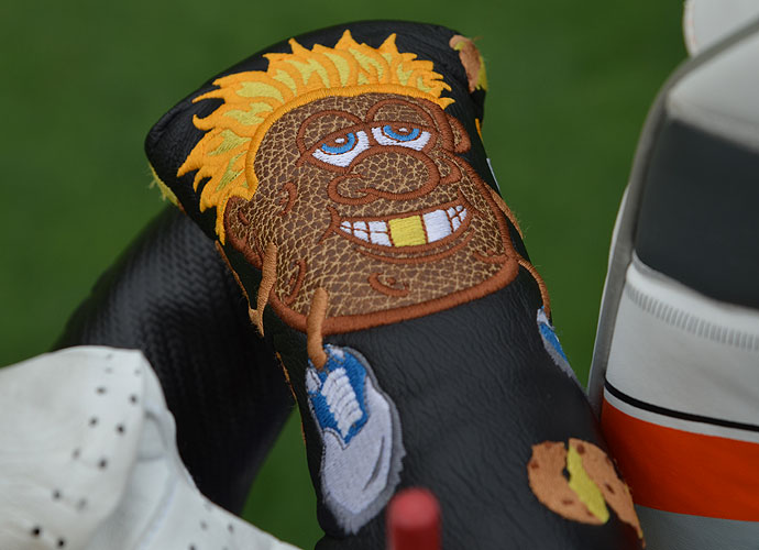 Jeff Gove's Mr. Potatohead headcover seems right at home in laid-back La Jolla, Calif.
